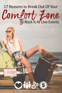 reasons to attend a live event