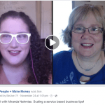 Livestream Chat #3: Miranda Nahmias is Scaling Her Service Based Business