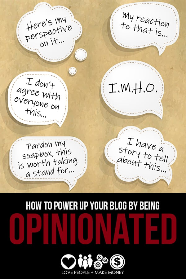 Simple Guidelines For Being More Opinionated On Your Blog. #exposureformycontent #lovepeoplemakemoney #solopreneur #businesssuccess #business