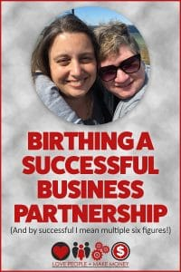 Birthing A Successful Business Partnership
