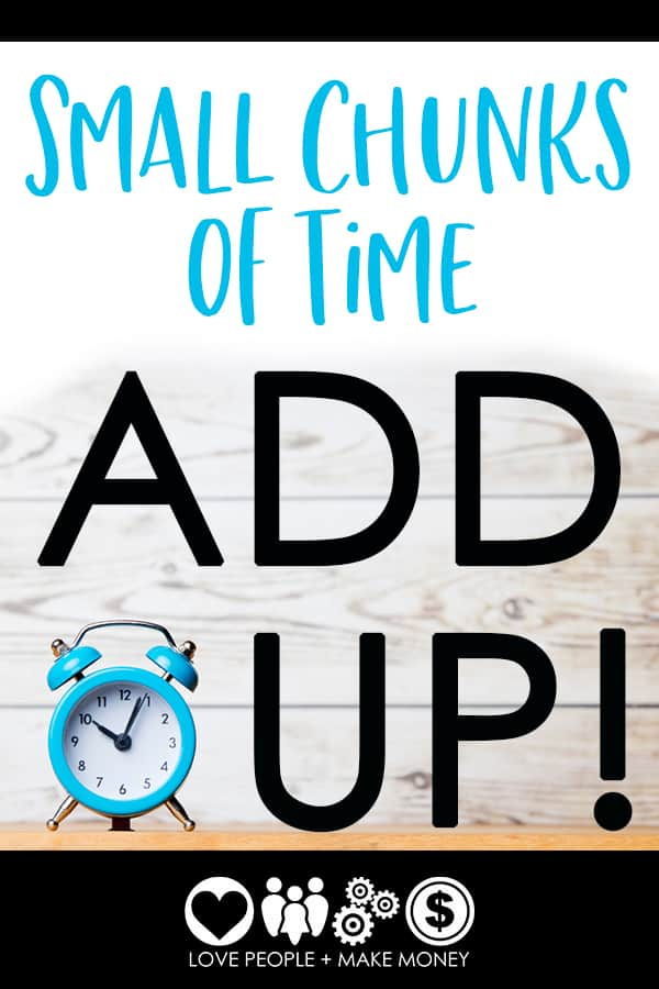 Episode #14: Small Chunks Of Time Add Up