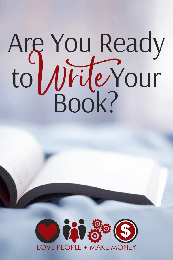 are you ready to write your book