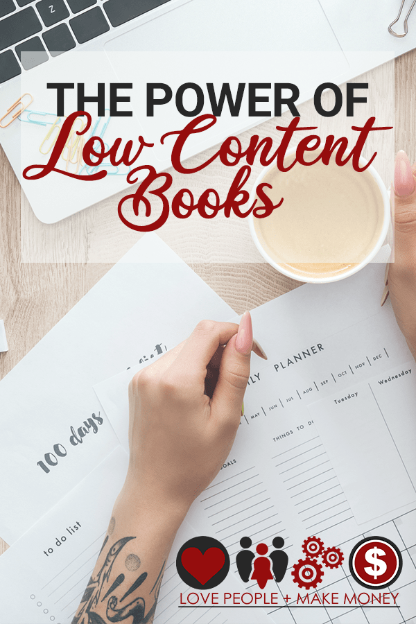 power of low content books